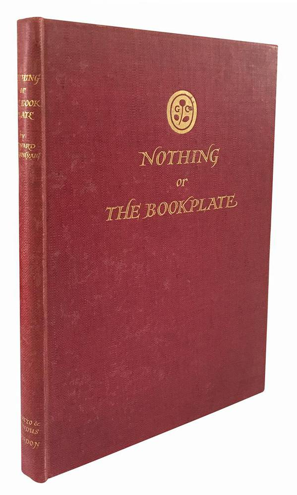 Nothing or the bookplace by Edward Gordon Craig and with a handlist by E. Garrick.