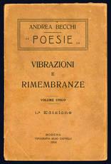 Poesie. Vibrazioni e rimembranze.