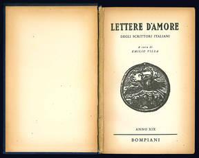 Lettere d'amore degli scrittori italiani.