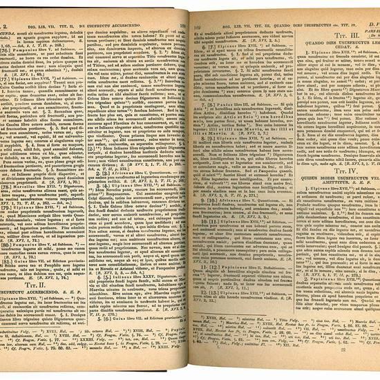 Corpus juris civilis ediderunt fratres Kriegelii. Impressio septima decima. Pars I (-III).