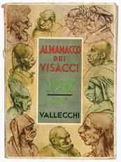 """Lotto di tre numeri dell' """"Almanacco dei visacci"""". Anno 1937, 1938, 1939."""