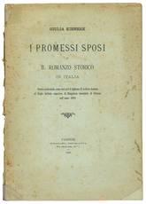 I promessi sposi e il romanzo storico in Italia. Studio presentato Come tesi per il diploma di Lettere italiane nel r. Istituto superiore di Magistero femminile di Firenze nell'anno 1889
