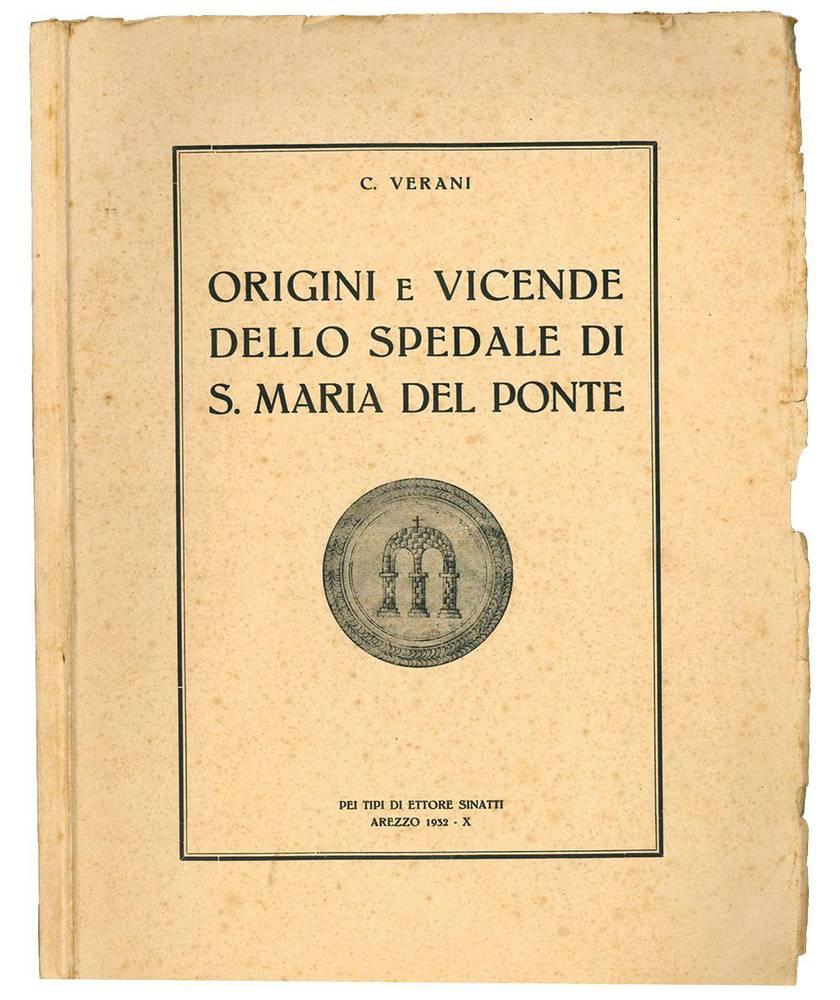 Origini e vicende dello spedale di s. Maria del Ponte