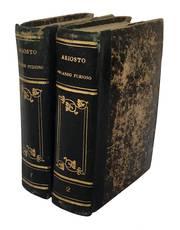 Orlando Furioso di Lodovico Ariosto conservato nella sua integrità e recato ad uso della studiosa gioventù dall'abate Gioachino Avesani con annotazioni. Vol. I (-II).