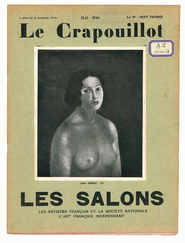 Le Crapouillot: lettres, arts, spectacles