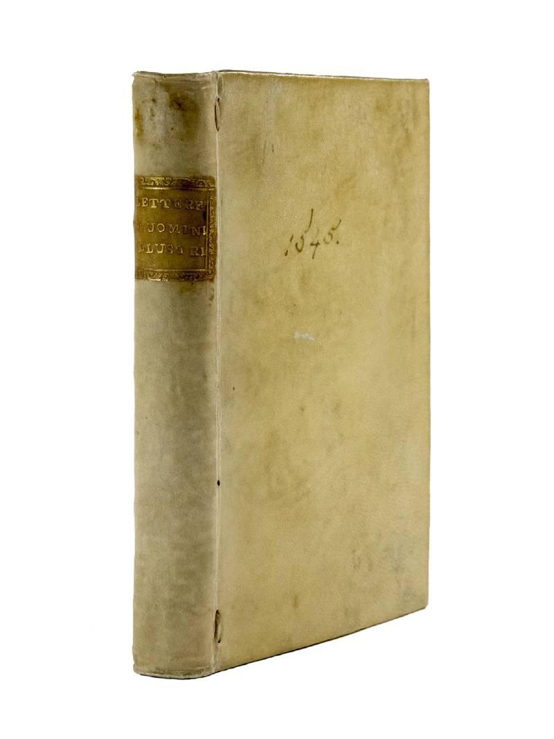 Lettere volgari di diversi eccellentissimi huomini, in diverse materie. Libro secondo