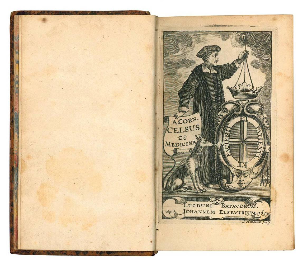 A. Corn. Celsi De Medicina libri octo, ex recognitione Joh. Antonidae vander Linden.