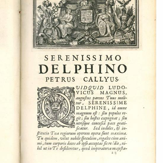 Consolationis philosophiae libros quinque interpretatione et notis illustravit Petrus Callyus [...], jussi christianissimi regis, in usum serenissimi Delphini