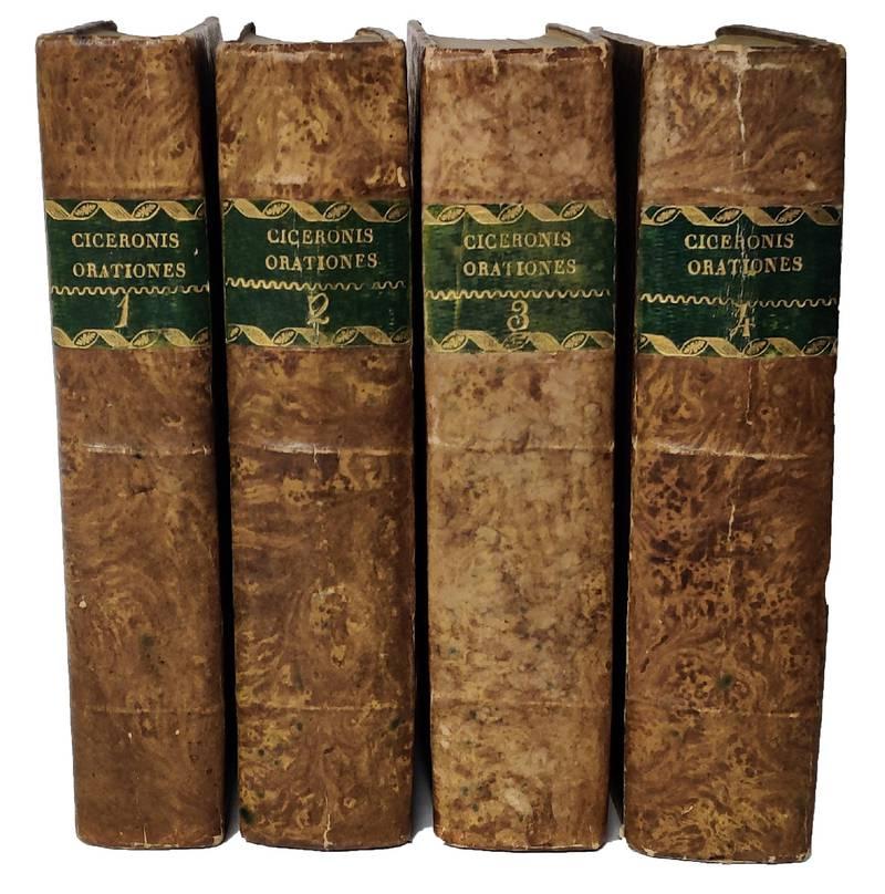 Orationum pars I. [-IV.] cum argumentis, animadversionibus, & analysi M. Antonii Ferratii ad usum Seminarii Patavini