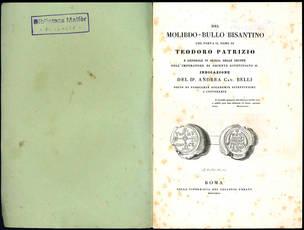Del molibdo-bullo bisantino che porta il nome di Teodoro Patrizio.