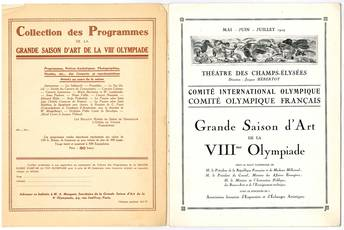Raccolta di 4 opuscoli degli anni '20 contenenti programmi teatrali