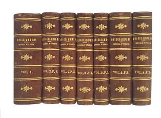Istoria d'Italia di messer Francesco Guicciardini. Edizione eseguita su quella ridotta a miglior lezione dal professor Giovanni Rosini.