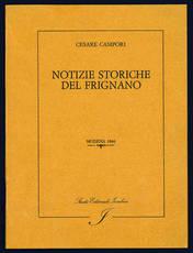 Notizie storiche del Frignano.