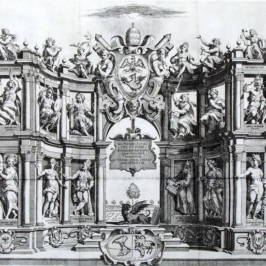 Quaestiones definitae ex triplici philosophia, rationali, naturali, morali, in Parmensi Academia pub