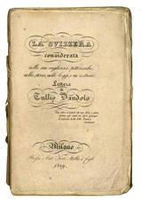 La Svizzera considerata...Volume II. Il cantone di Vaud