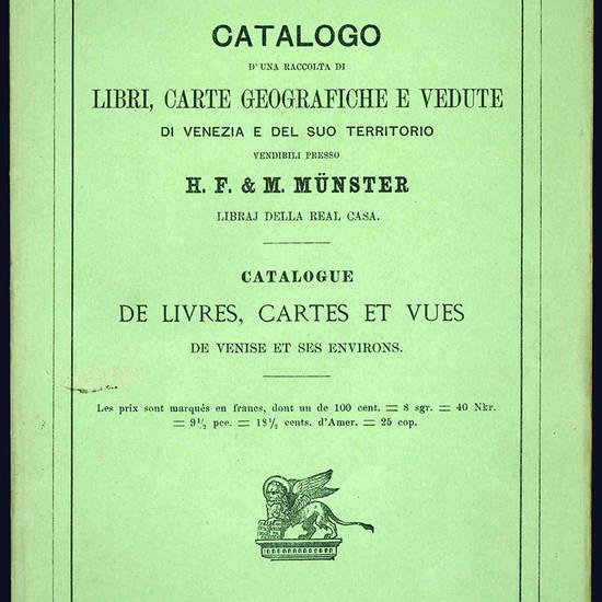 Cataloghi di librerie e raccolte.