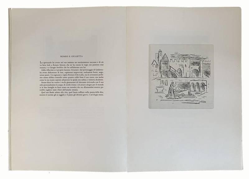 Spettacoli shakespeariani a Verona dal 1948 al 1963. Presentazione di Eligio Possenti. Illustrazioni da acqueforti di Pino Casarini. Note critiche di Bruno De Cesco