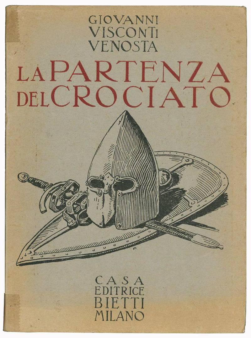 La partenza del crociato. Acquarelli di Adolfo Magrini, 1920