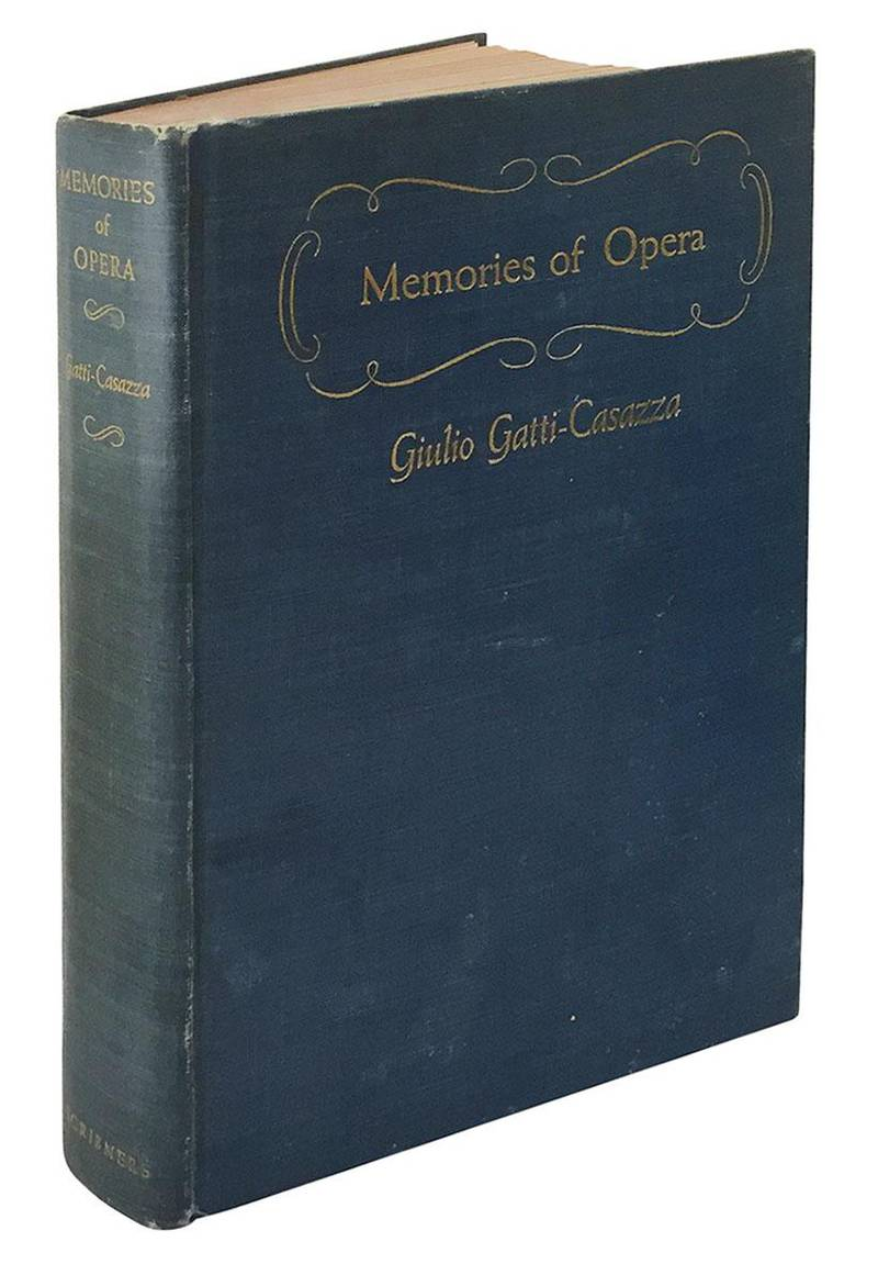 Memories of the opera.