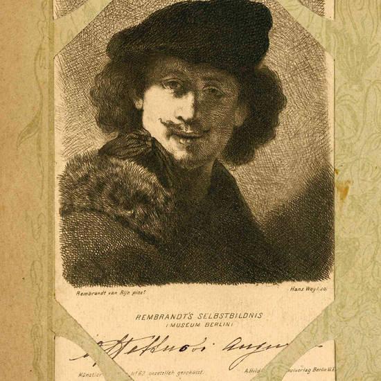 Lotto di 33 cartoline raffiguranti personaggi illustri.