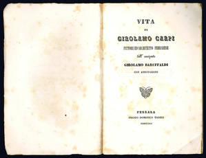 Vita di Girolamo Carpi.