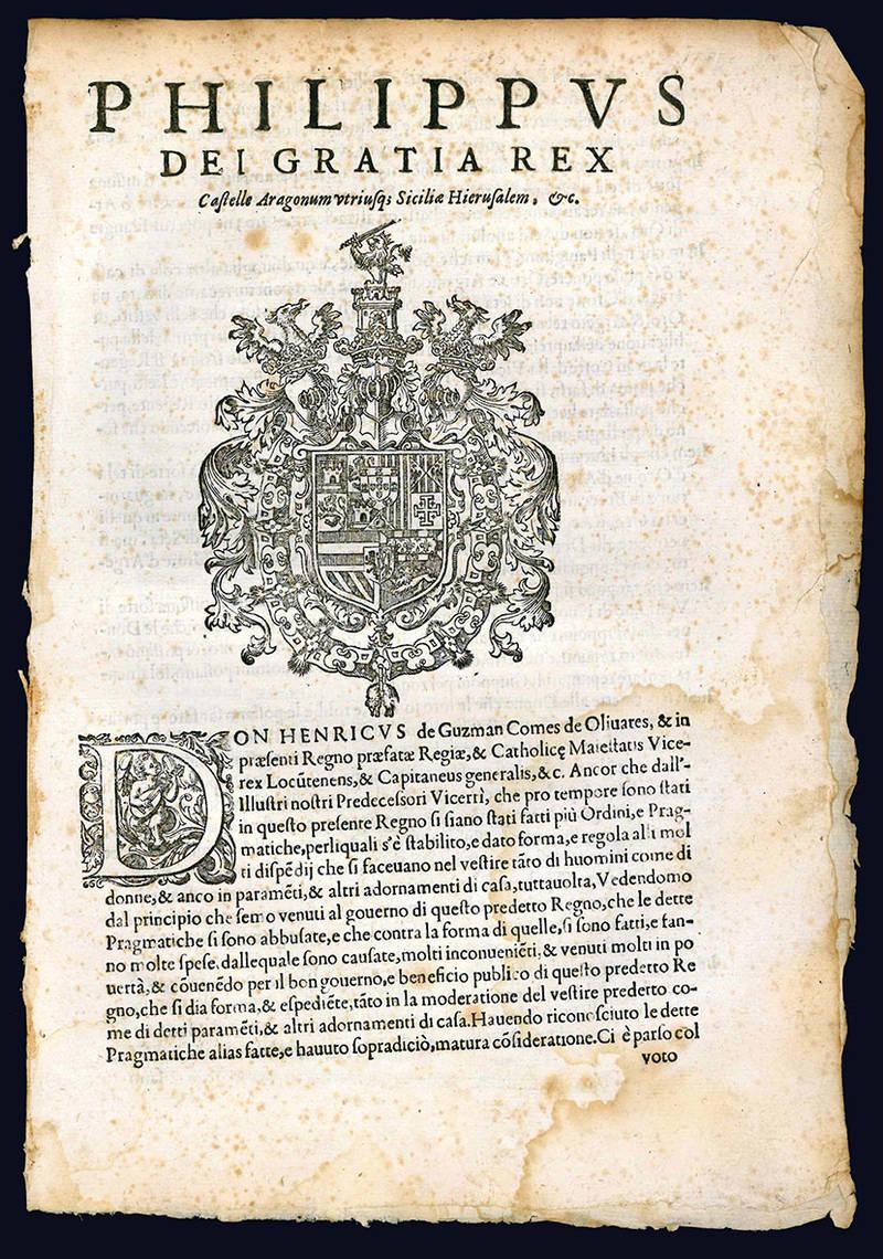 Circulation of money, sumptuary laws, regulation concerning printers