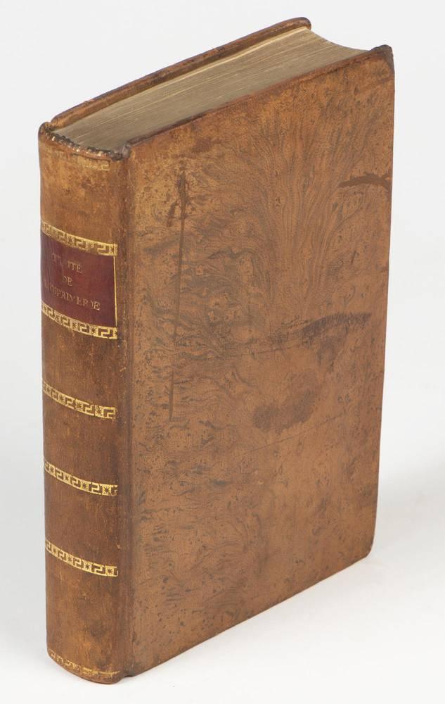Traité élémentaire de l'imprimerie, ou le manuel de l'imprimeur; Avec 36 planches en taille-douce [...]