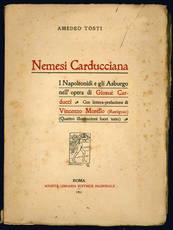 Nemesi carducciana. I Napoleonidi e gli Asburgo nell'opera di Giosuè Carducci.