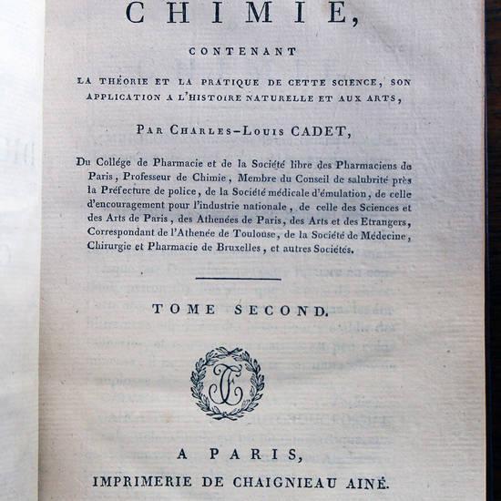 Dictionnaire de chimie