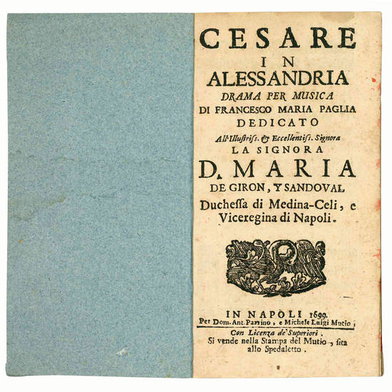 Cesare in Alessandria drama per musica
