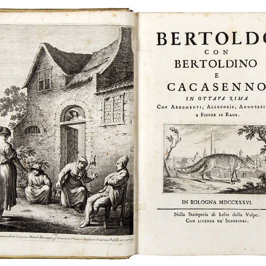 Bertoldo con Bertoldino e Cacasenno