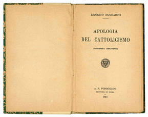 Apologia del Cattolicismo.