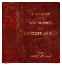 Aide-mémoire de l'ingénieur agricole a l'usage des agriculteurs et viticulteurs, Des Ecoles d'Agriculture, de l'Enseignement professionnel, etc.