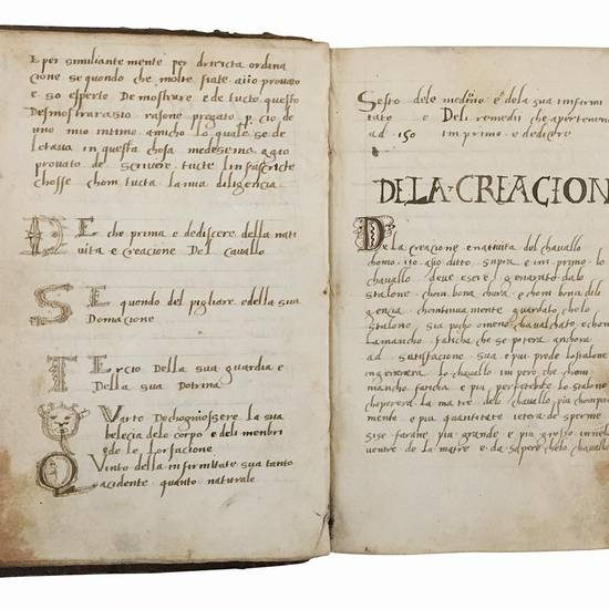 Libro de maschancia. Manoscritto su carta. Italia, primo quarto del XVI secolo