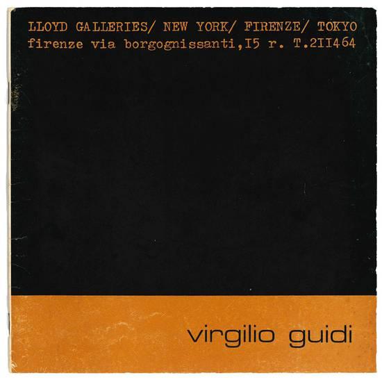Virgilio Guidi dal 30 marzo 1972