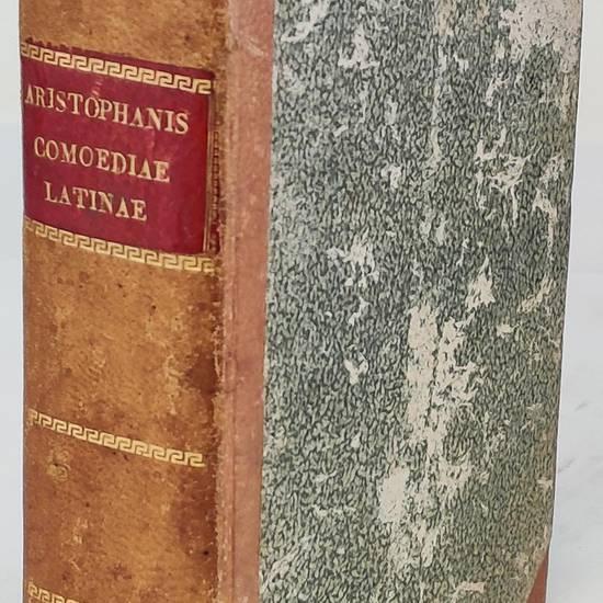 Aristophanis, comicorum principis, Comoediae undecim, è Græco in Latinum, ad verbum translatæ, Andrea Divo Iustinopolitano interprete. Quarum nomina sequens indicabit pagina