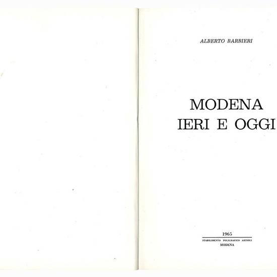 Modena ieri e oggi.