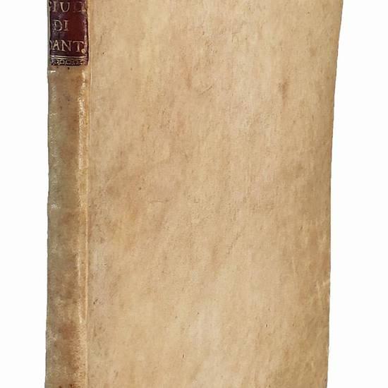 Giudizio degli antichi poeti sopra la moderna censura di Dante, attribuita ingiustamente a Virgilio; con li Principi del buon gusto, ovvero Saggio di critica, poema inglese del sig. Pope ora per la prima volta fatto italiano da Gasparo Gozzi