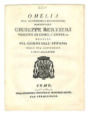 Omelia dell'Illustrissimo e Reverendissimo Monsignore Giuseppe Bertieri.