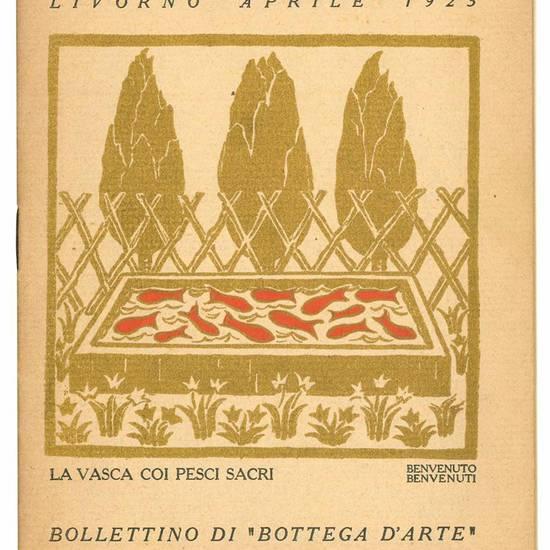 """Lotto di 22 numeri del Bollettino di """"Bottega d'Arte""""."""