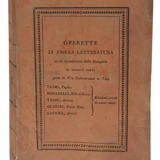 Filli di Sciro del conte Guidubaldo Bonarelli.