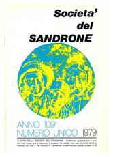 Società del Sandrone. Anno 109°. Numero unico 1979.