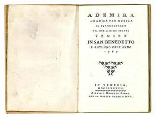 Ademira dramma per musica
