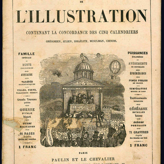 Almanach de l'illustration.
