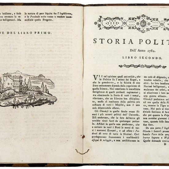 Storia politica dell'anno 1781