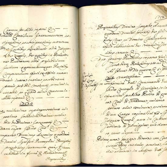In Zuccolo cum Zuccolo, et Creditoribus. Copia processus