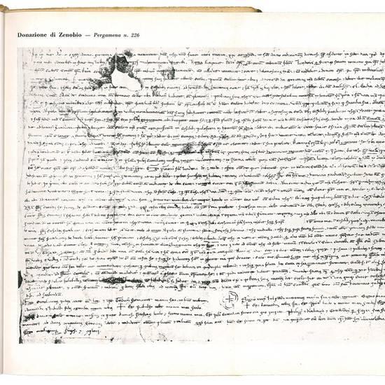 La donazione del tribuno romano Zenobio al vescovo d'Arezzo San Donato