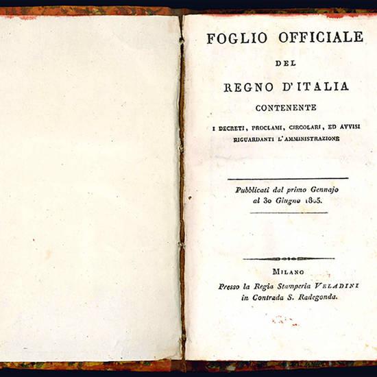Foglio officiale del Regno d'Italia
