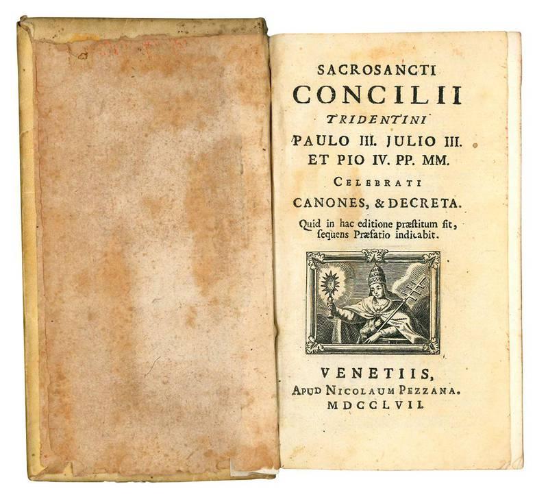 Sacrosancti Concilii Tridentini Paulo III. Julio III. Et Pio IV. PP. MM. Celebrati canones, & decreta. Quid in hac editione praestitum sit, sequens praefatio indicabit.