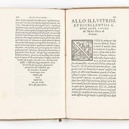 Rettorica, et Poetica d?Aristotile tradotte di greco in lingua vulgare fiorentina da Bernardo Segni gentil?huomo, & accademico fiorentino